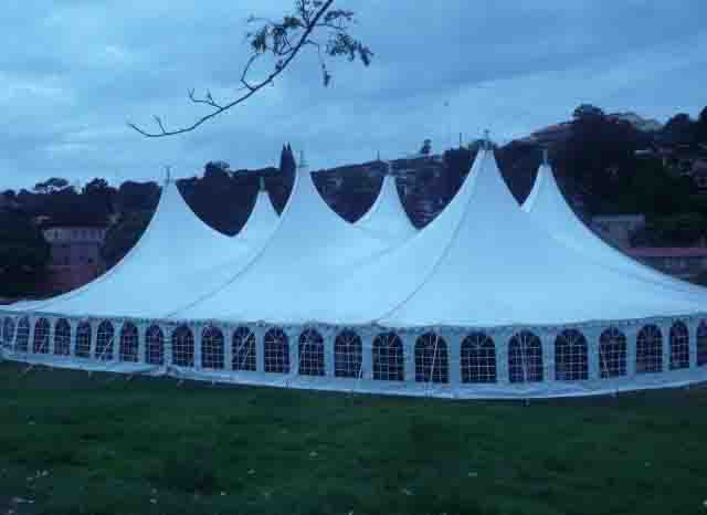 Large Alpine Marquees Tents